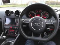 Audi Flat Bottom Steering Wheel + Airbag