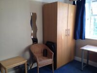 Large Bright Double Room in a female flat share moments from Surbiton Station