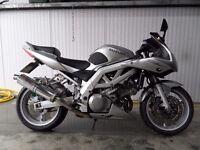 2003 Suzuki SV1000SK3 Silver