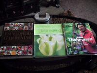 Brand new gardening books bundle RRP: £69.99 Spring, Alan Titchmarsh, Encyclopedia