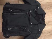 Miss Selfridge Leather Jacket (Petite)