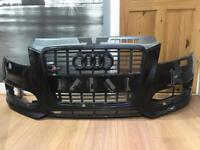 Audi S3 8P genuine facelift front bumper with black edition audi s3 grill