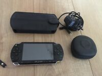 PSP handheld console