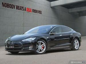 2014 Tesla Model S P85D,Autopilot,80AMP,Roof,INSANE MODE,Recaro