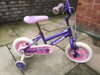 Little girl bicycle