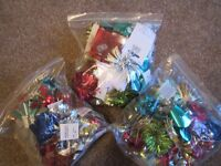 48 Luxury gift wrap bow decorations -- new