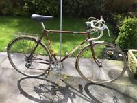 GENTS (ORIGINAL RALEIGH ROAD BIKE) VERY ORIGINAL CONDITION (RIDES AWSOME)