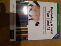 A level Psychology study book AQA