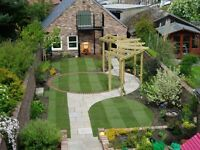landscaping , patios . Decking, sleepers, garden rip outs, grass cuts , all garden work undertaken