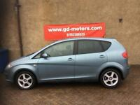 SEAT ALTEA 2.0 TDI (54) 1 YEAR MOT, SERVICE HISTORY, WARRANTY NOT MERIVA GOLF ASTRA FOCUS 308