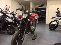 Rieju RS3 NKD 125cc Motorcycle, Yamaha Engine, Sports Exhaust, ** Finance Available **