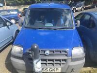 Fiat Doblo Van Non Runner
