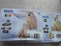 EPSOM POLAR BEAR 26XL Claria Premium ink for Premium Expression range-NEW UNUSED