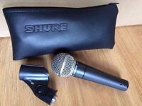 SM58 Shure microphone (Free P+P)