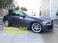 BMW 320D M-Sport (330d 335d 530d A4 Golf Civic A5) £120 per month