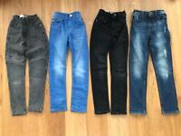 4 pairs of Boys NEXT jeans