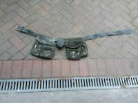 Leather nail belt tool belt used