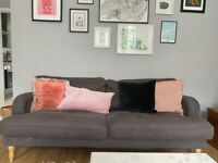 3 Seater Ikea Sofa Grey