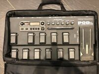 POD XT Live with power supply and gig bag