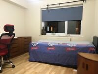 A double room available immediately, close to train station, fully furnished all bills included