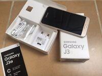 Samsung Galaxy J3 (2016) Gold Unlocked Smartphone. Cash or Swap.