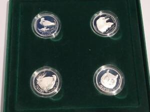 2000 BIRDS OF PREY PROOF 50 CENT 4-COIN SET