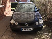 2002 VW Polo only 400