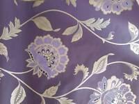 2x rolls purple wallpaper brand new