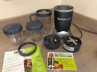 NutriBullet, Graphite - £30 - Only used a few times