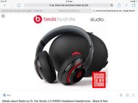 Beats by DR Dre wired new with box were 329.99 from Tesco last year