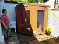 Timber Summer House Shed - Free