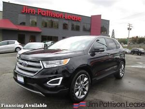 2016 Ford Edge Titanium w/leather, nav, pana roof