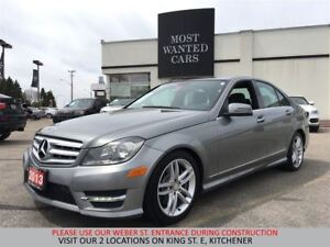 2013 Mercedes-Benz C300 4MATIC SPORT PACKAGE   NO ACCIDENTS   RO