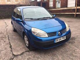 Renault Scenic 1.6 VVT Rush 5dr GENUINE LOW MILES+12 MONTH MOT RING NOW FOR MORE INFO 07735447270