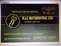MOBILE MECHANIC/ warning lights.oil servicing.brakes.diagnostics