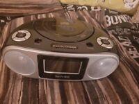 DAB CLOCK RADIO - TECHNIKA CD PLAYER