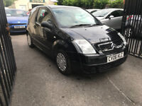 Citroen C2 1.1 Petrol Manual 3 Door Hatchback 2006 Black Fantastic Car