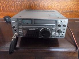 ICOM IC-735 TRANSCEIVER, GENERAL COVERAGE RECEIVE.