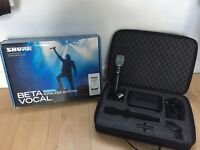 Shure 87a beta Wireless Microphone