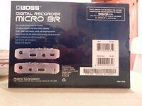 Boss Digital Recorder Micro-BR Boxed