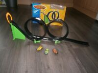 Compact Penny Car Racing Set