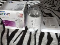 Philips AVENT Fast Bottle Warmer Brand New