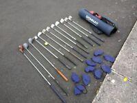 Assorted golf club set