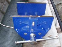WOOD WORK VICE, AS NEW CONDITION HARDLY USED,