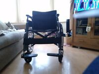 Portable, Lightweight, folding Self propelled wheelchair