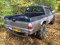 2002 Mitsubishi L200 pickup truck 4life Turbo diesel manual export 4x4 offroad - aircon