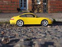 Paul Hodgekiss oak coffee table + free Porsche 911