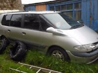 BREAKING parts Renault Grand Espace silver 2000