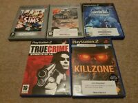 Pre-owned Playstation 2 PS2 5 game bundle joblot