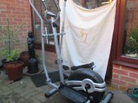 Body CrosstrainerPortable Elliptical Strider BE6100
